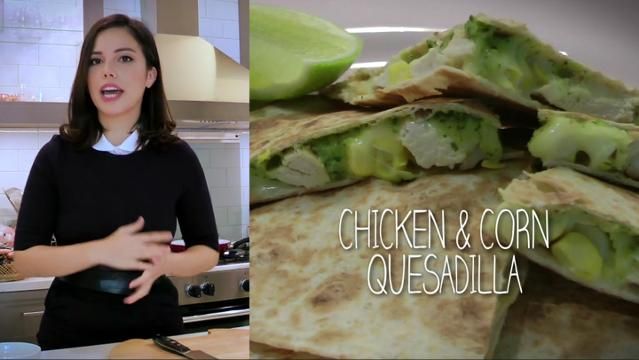 Ep 1 - Chicken & Corn Quesadilla | Simply Special with Sarah Benjamin
