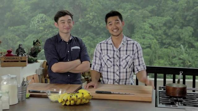 Ep 4 - Banana Fritters (Goreng Pisang) | Family Kitchen with Sherson Web Series