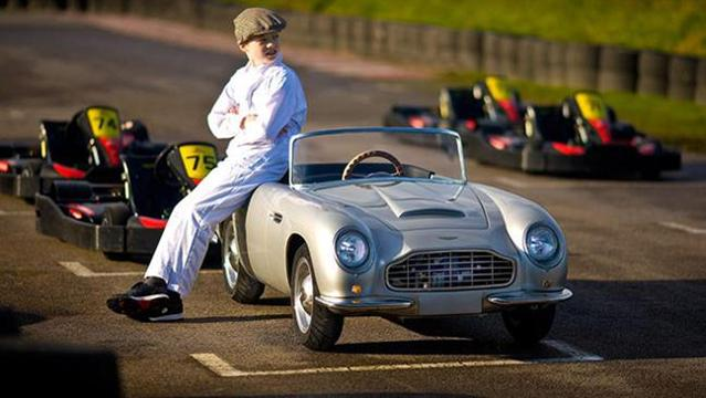 Aston Martin Kids Car With Real Engine Car News Carsguide