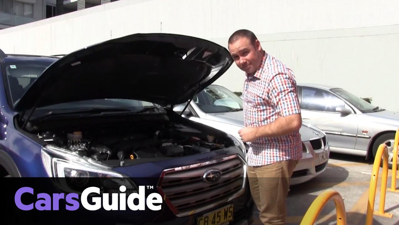 How To Check Your Oil Coolant And Windscreen Washer Levels Car 2011 Camry Engine Compartment Diagram Advice Carsguide