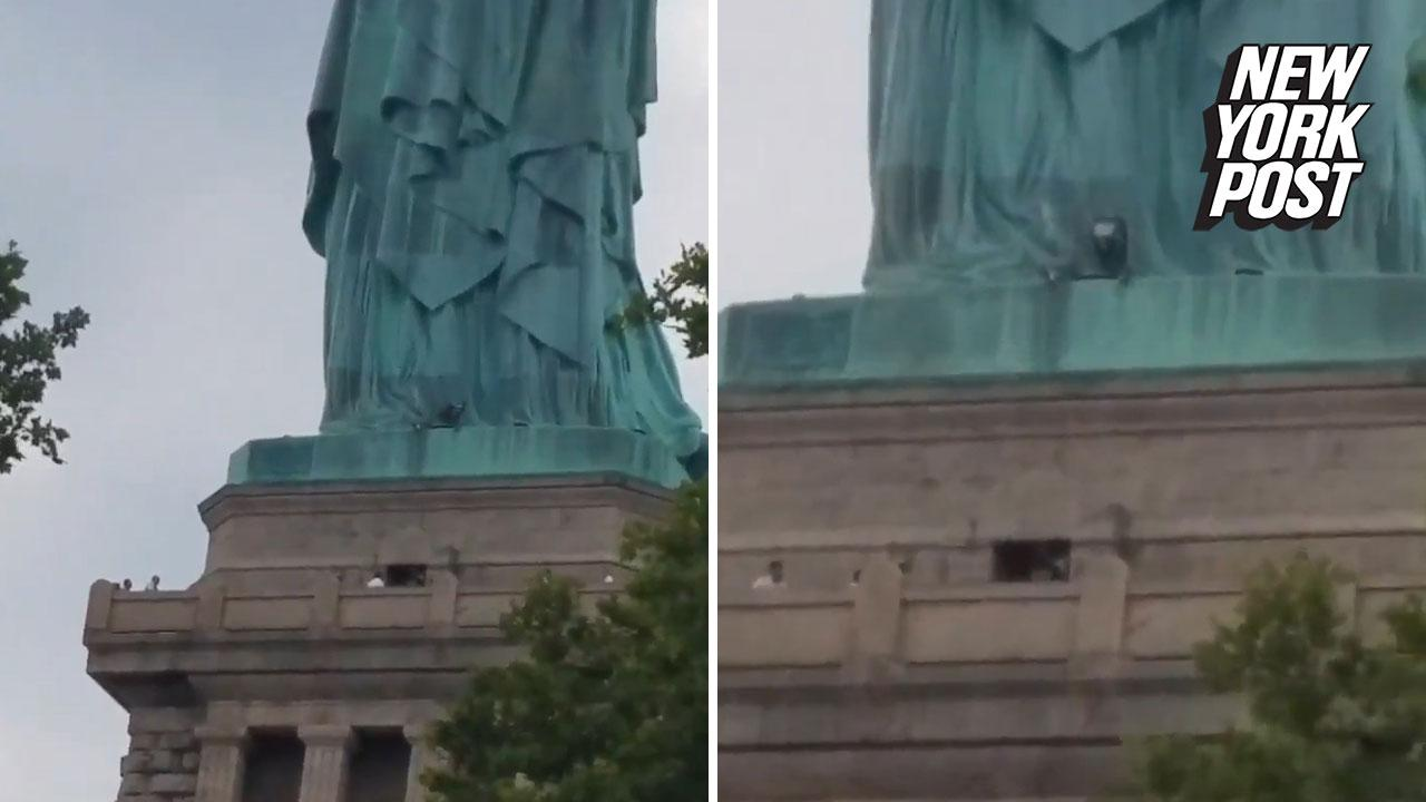 Woman Who Scaled Statue Of Liberty Is Immigrant Protesting Zero
