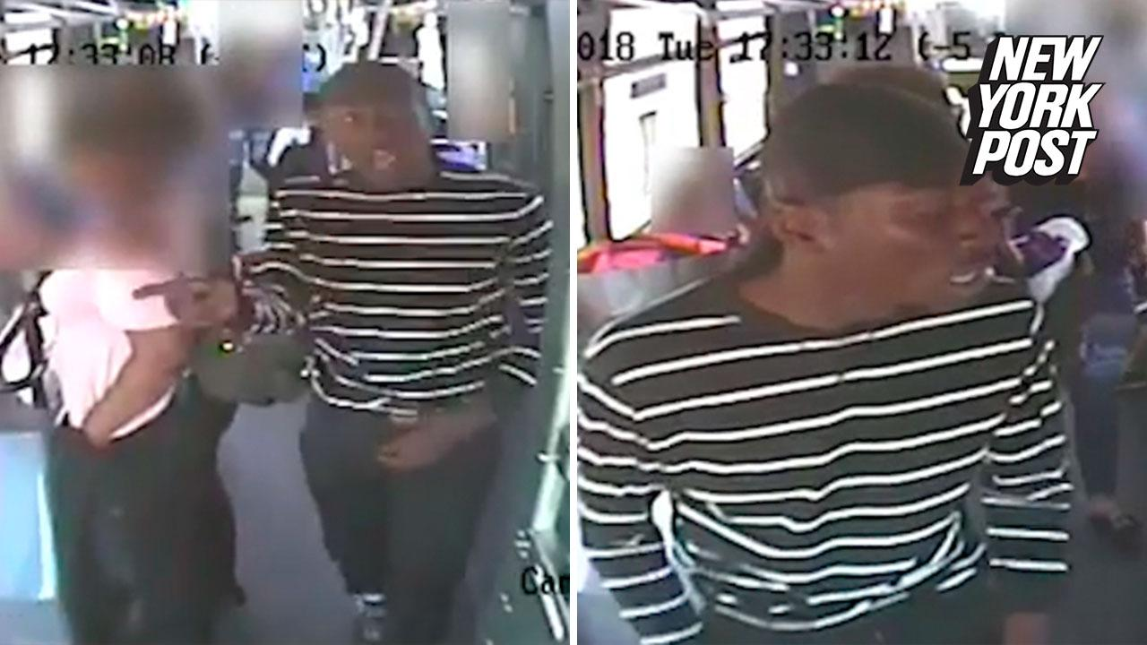 Woman slashed several times by stranger aboard MTA bus