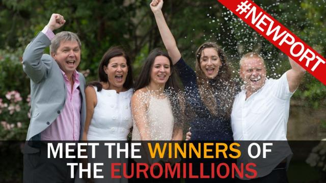 Meet the family who just won £61 million