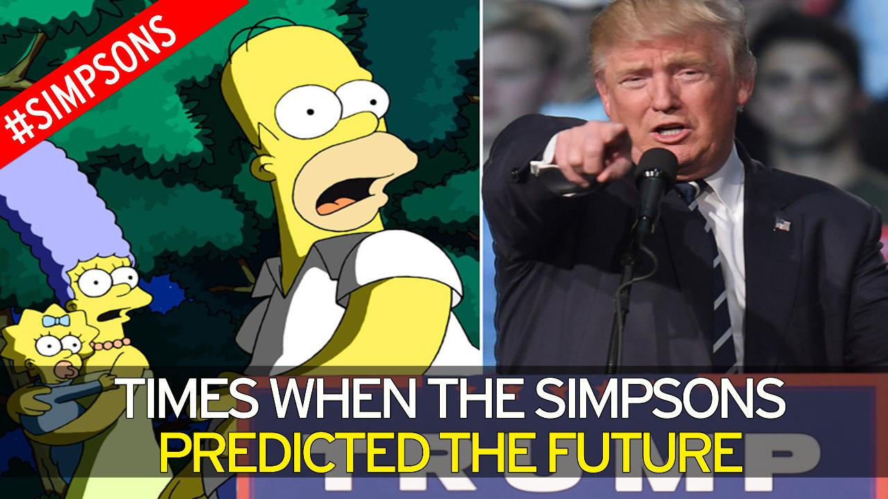 The Simpsons eerily predicted Lady Gagas Super Bowl performance