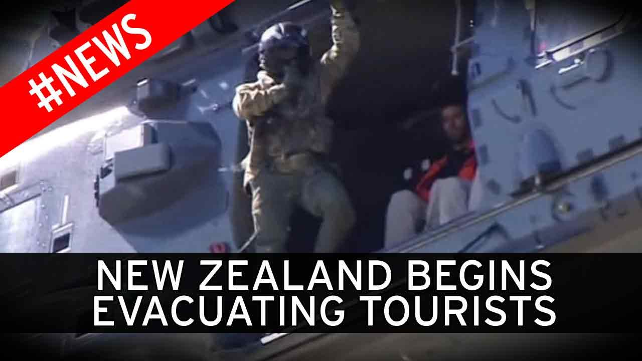 New Zealand begins evacuating tourists from quake-hit town