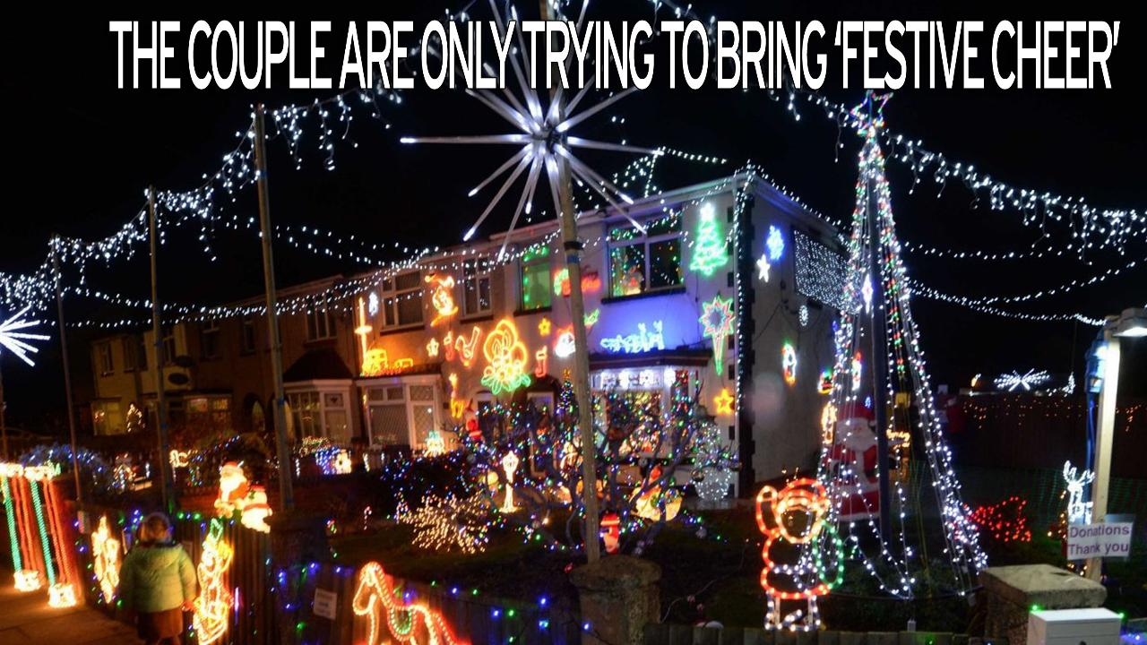 couple receive hate mail after covering their home in 30000 tacky christmas lights - Christmas Lights Online