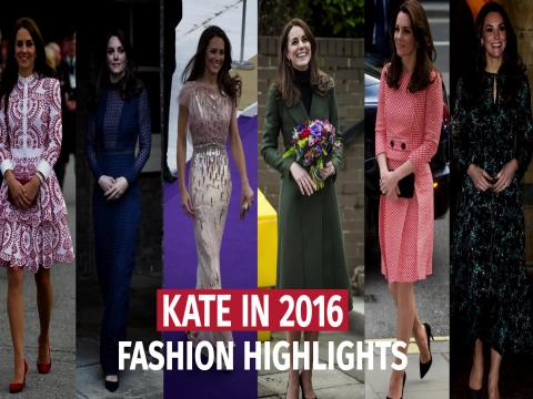 523a461eff15 Kate Middleton's bold, confident and personal fashion choices made 2016 the  year she stopped playing it safe