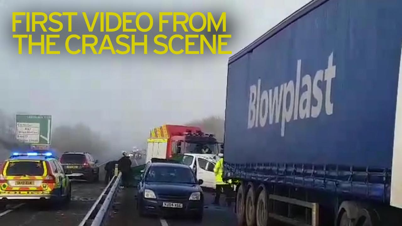 Oxfordshire A40 crash: One motorist killed and two fighting for ...