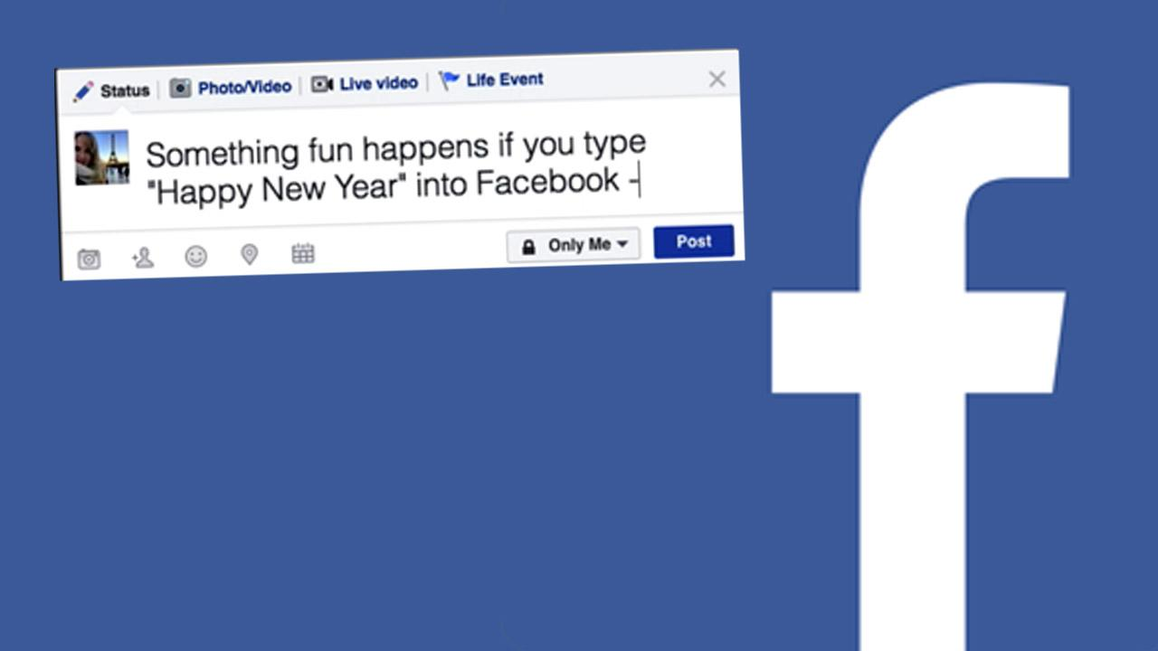 Facebook Has A Treat In Store For Anyone Who Says Happy New Year But Theres A Catch