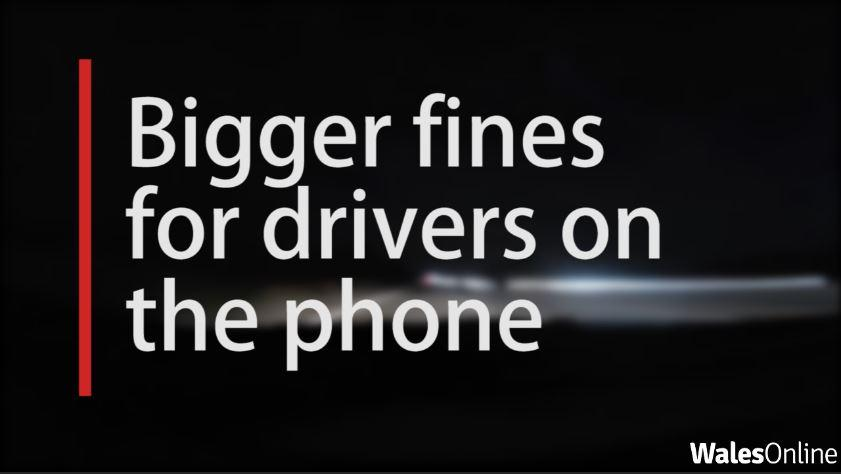 Bigger fines to be introduced for people using mobile phones while driving