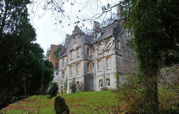 This gothic castle style family home has gone on sale in for Castle style homes for sale