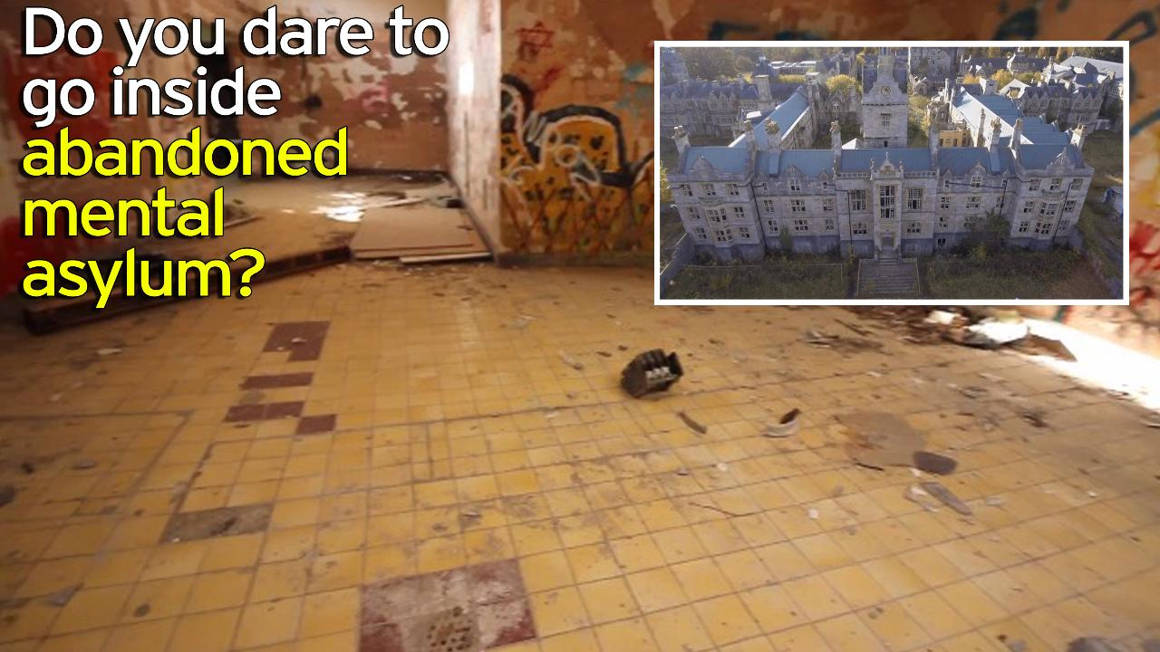 Stunning Drone Footage Of Eerie Abandoned Uk Psychiatric Hospital Where 1 500 Patients Were Caged And Lobotomised Mirror Online
