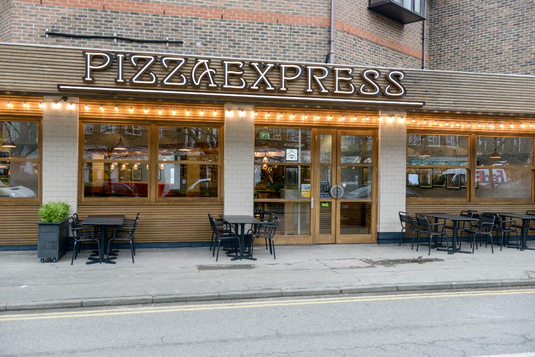First Look Inside Pizza Express Cobham