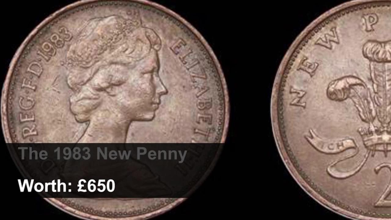 Rare Coins - Coins which could be worth a small fortune