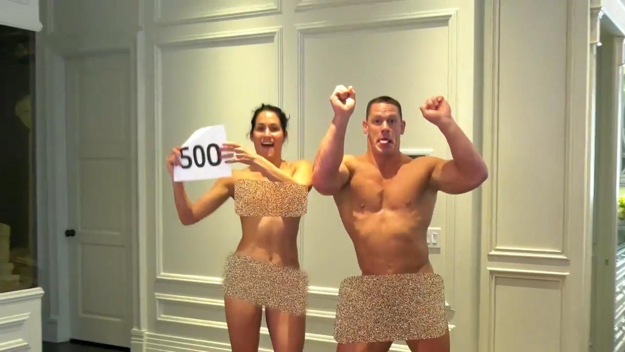 John Cena And New Fiance Nikki Bella Strip Naked To Reward Loyal Fans - Mirror Online-6119