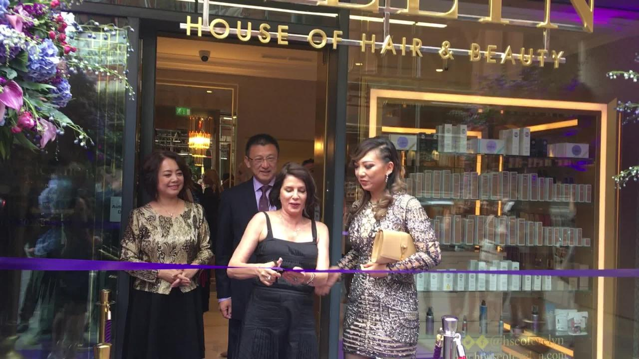 Sadie frost launches glitzy 1m beauty salon in manchester for Beauty salons in manchester