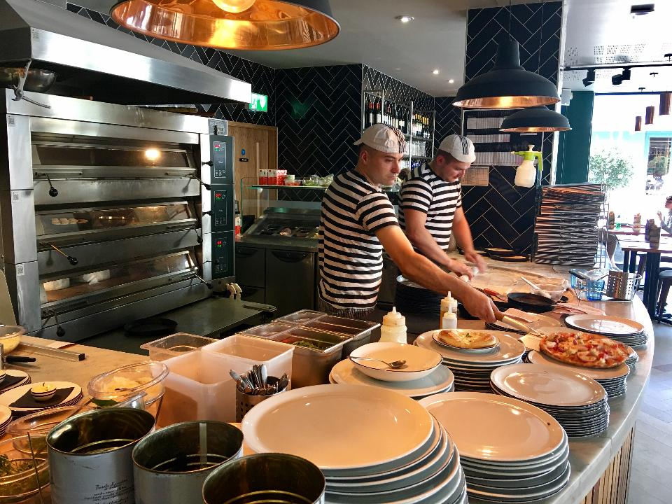 Take A Look Inside Pizza Express Camberley