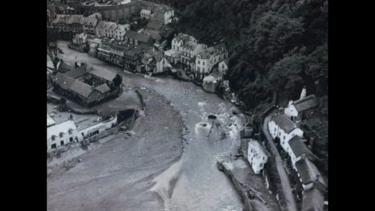 Lymouth Flood Disaster: RAF rainmaking experiment blamed for Devon's worst ever flood disaster