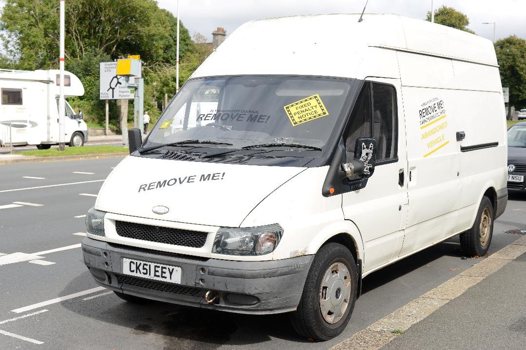 council fines white van man 300 for having lunch wrappers in his