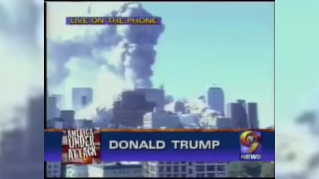 Donald Trump blames BOMBS for collapse of South Tower on 9/11