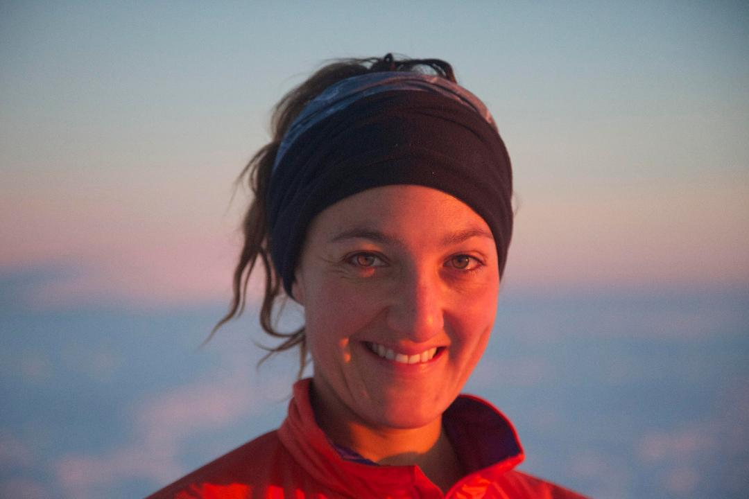 The desperation, loneliness and terror of a woman's epic solo cycle to the South Pole