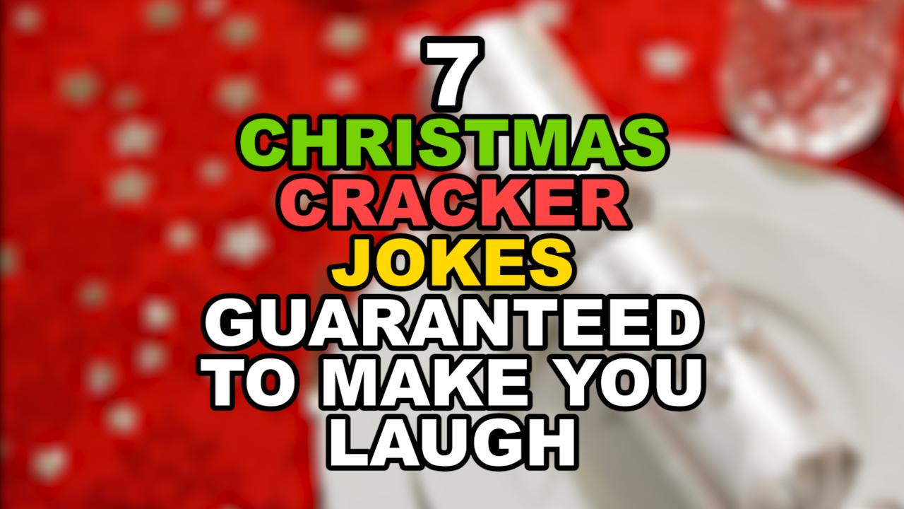 Amazing Top 40 Christmas Cracker Jokes Of 2017 Revealed   See If You Can Get  Through These Jokes Without Raising A Smile. U0027