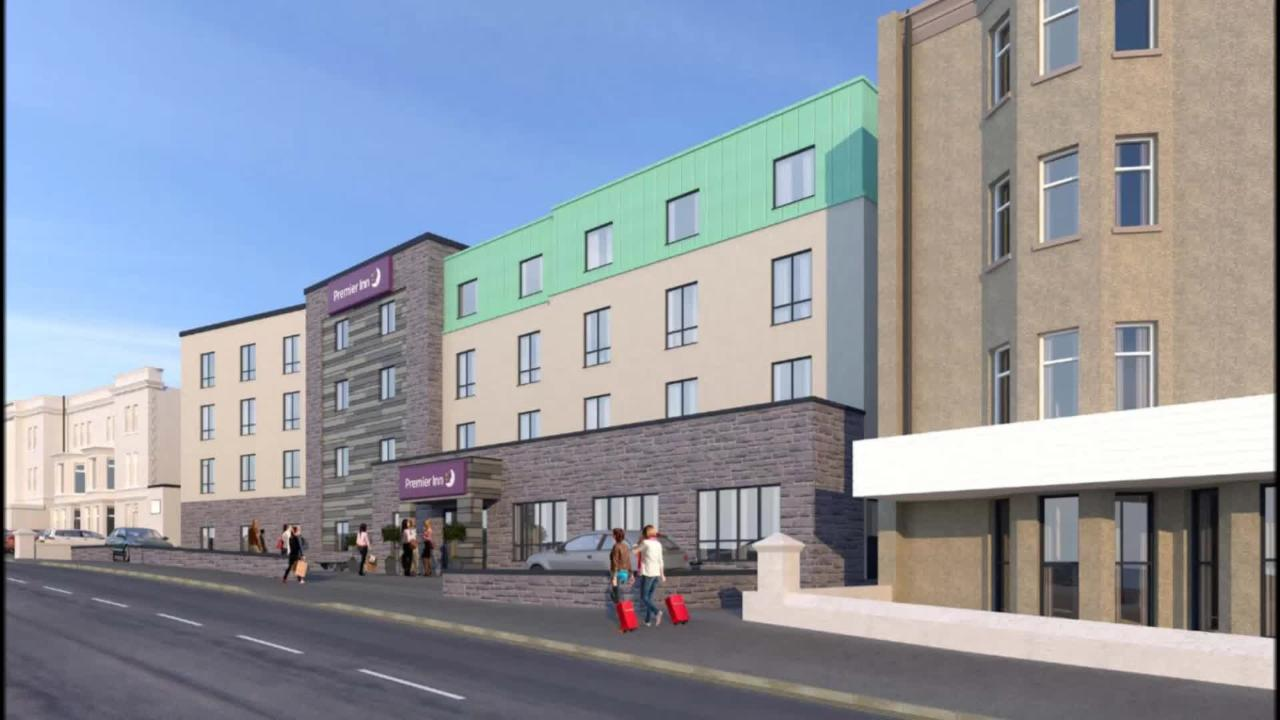 decision made on premier inn 82 bed four storey hotel on