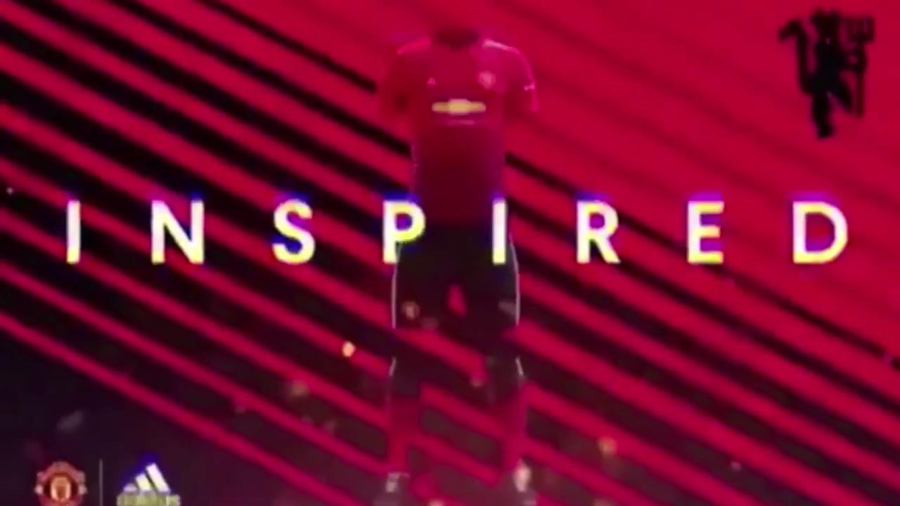 4430feca8 Is this next season's Manchester United's home kit? New 2018/19 adidas shirt  'leaked' in video