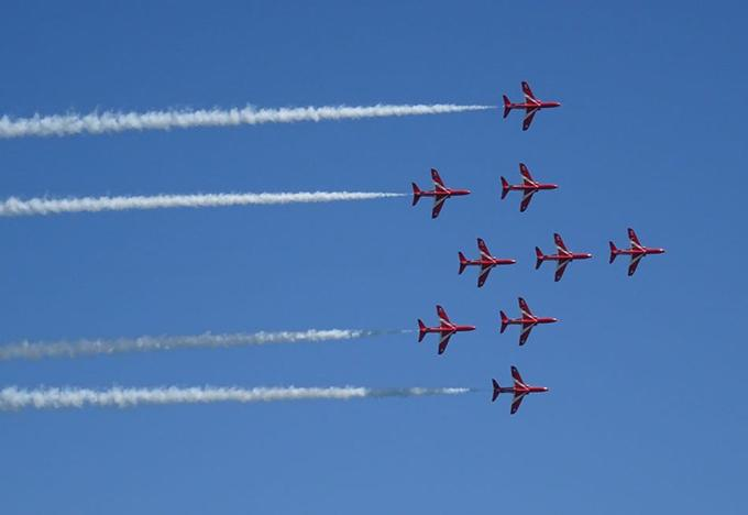 Channel 5 Red Arrows documentary offers most in-depth look at the squad in a generation