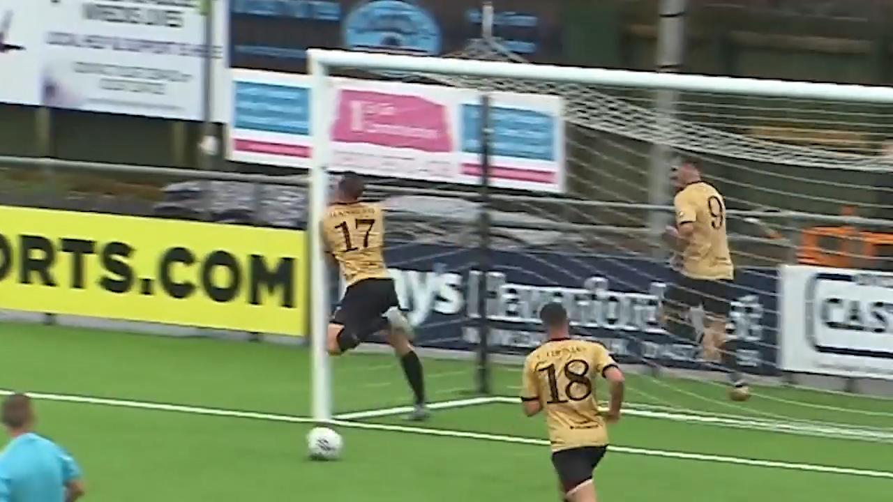 The hilarious but painful Welsh goal celebration that one player will want to forget