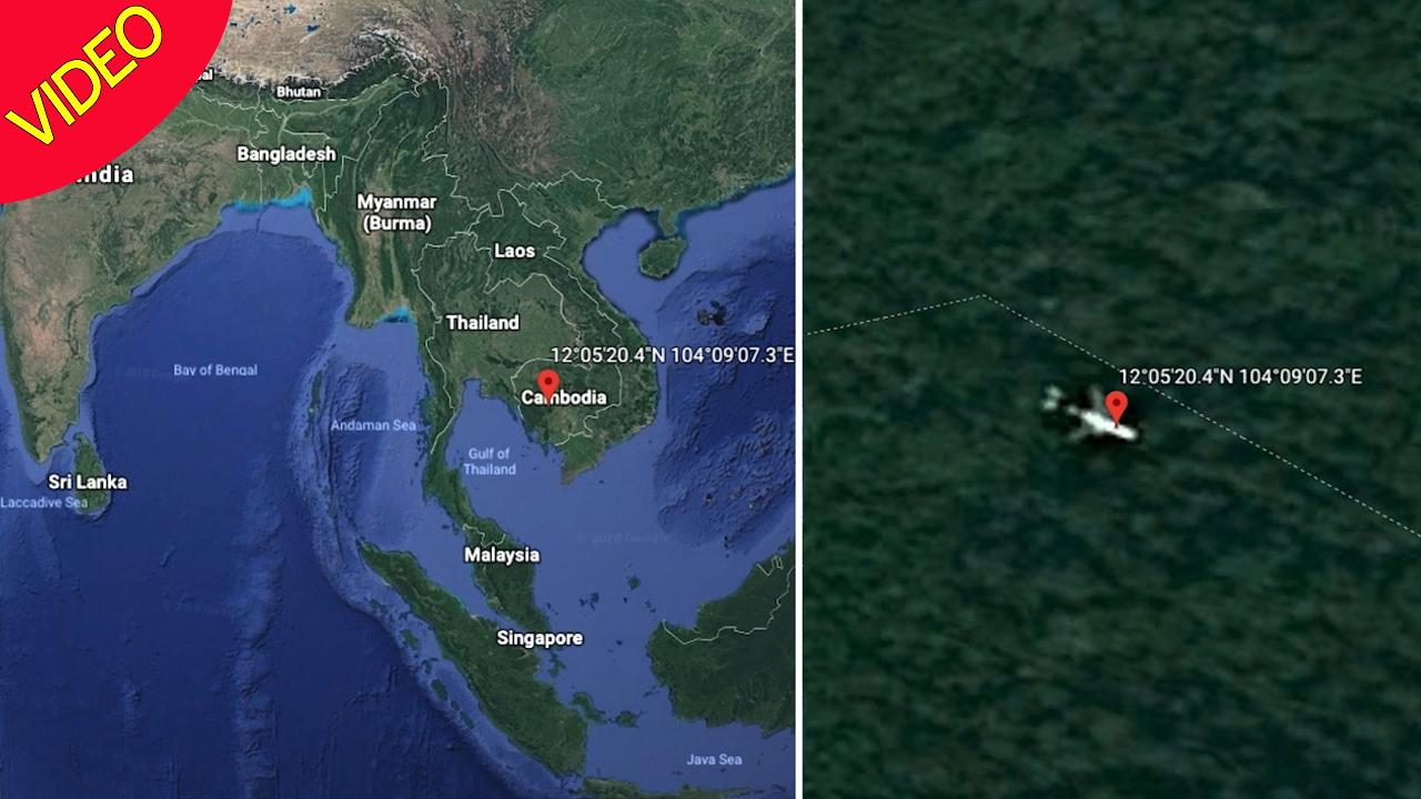 Mh370 Crash Site Spotted On Google Maps Is Surrounded By Illegal