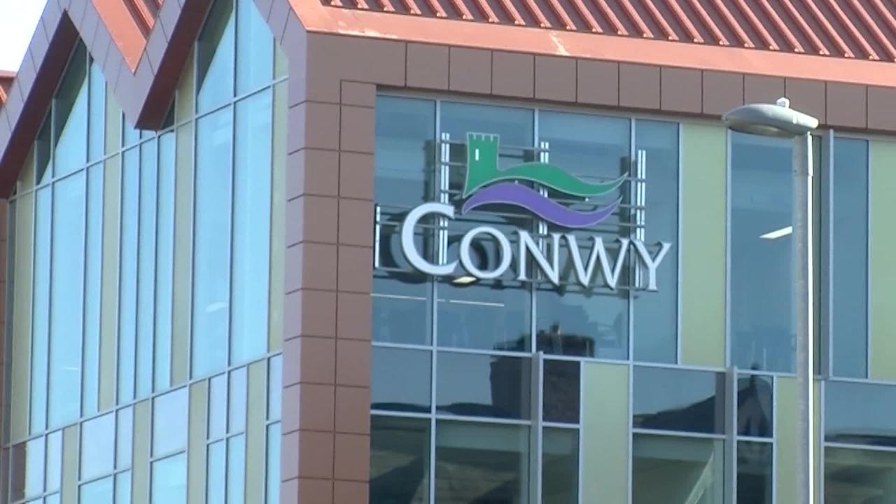 This is what Conwy Council have to say about those pictures of their new £38m HQ