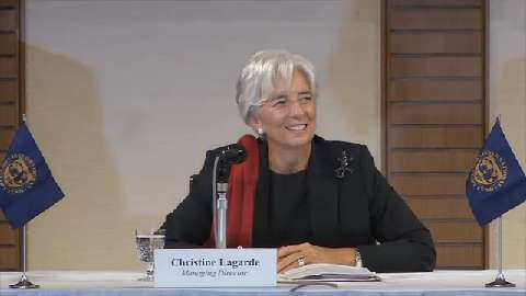 Press Conference by IMF Managing Director, Christine Lagarde at the Conclusion of Her Visit to Japan