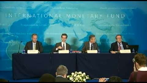 Press Briefing: World Economic Outlook Update, January 2015