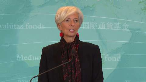 Press Briefing: IMF Managing Director Christine Lagarde says Executive Board Includes Chinese Renmin
