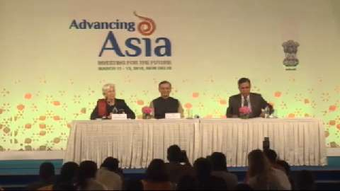 Closing Press Conference: Jayant Sinha and Christine Lagarde