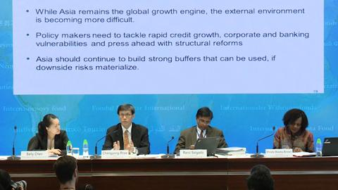 Press Briefing Asia Pacific Regional Economic Outlook