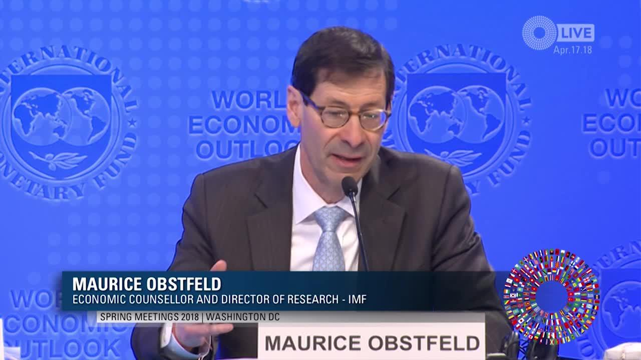 Press Briefing: World Economic Outlook, April 2018