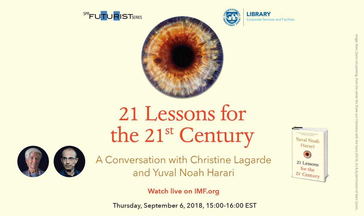21 Lessons for the 21st Centrury: A Conversation with Christine Lagarde and Yuval Noah Harari