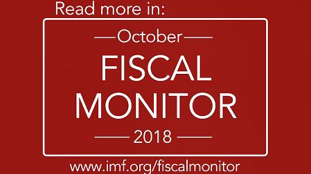 IMF Fiscal Monitor, October 2018