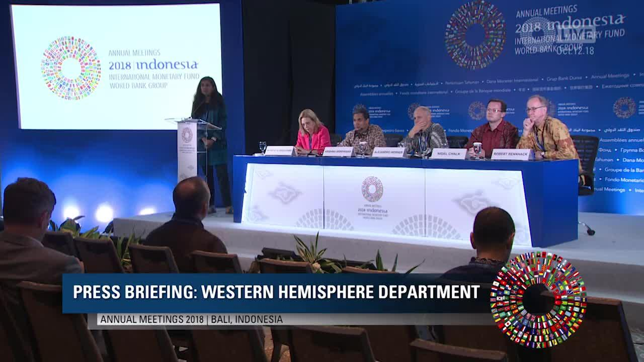 SPANISH: Press Briefings: Western Hemisphere Department