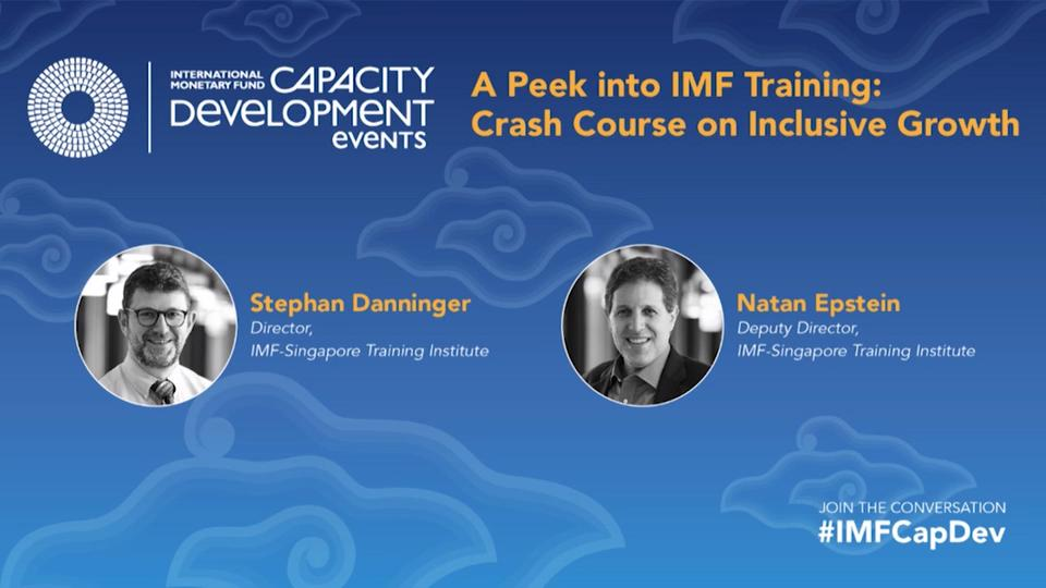 Postcard Series: A Peek into IMF Training: Crash Course on Inclusive Growth