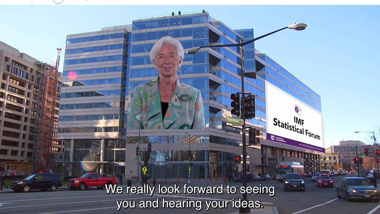 6th IMF Statistical Forum – Coming Soon (1:30)