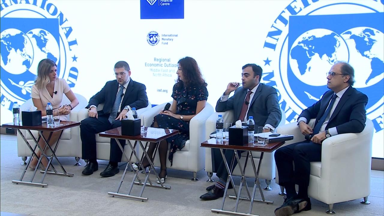 MENA Regional Economic Outlook Panel Discussion