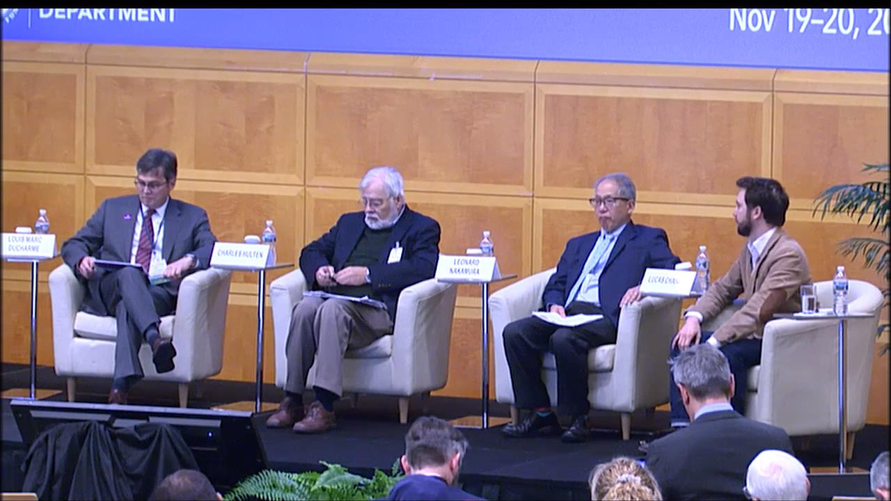 "The Sixth IMF Statistical Forum: Session 1 - Framework for Economic Welfare ""Beyond GDP."" What is Ne"