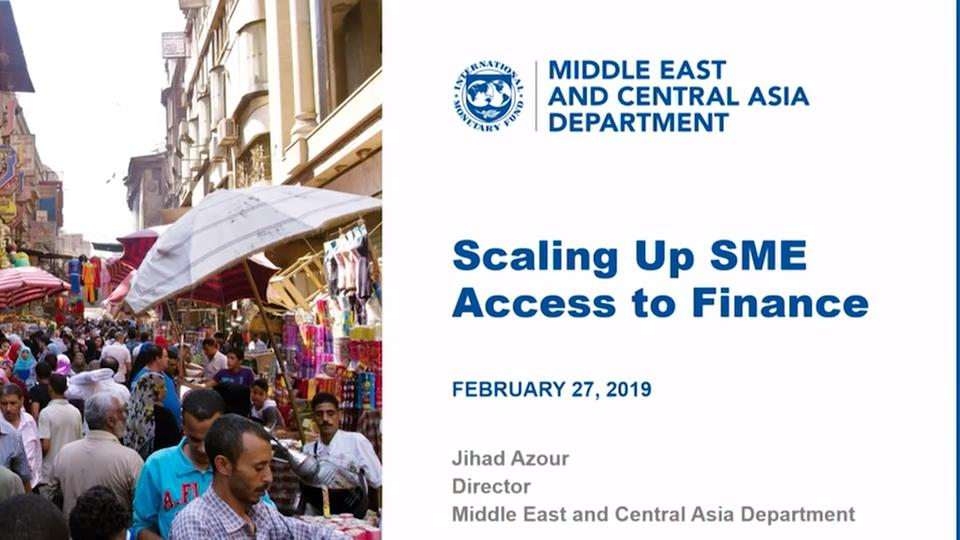 Scaling up Access to Finance for Small and Medium-Sized Enterprises