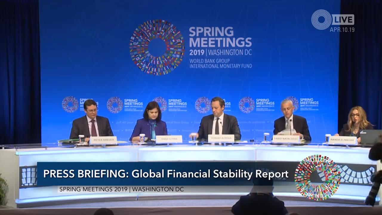 Transcript of the Press Conference of the April 2019 Global