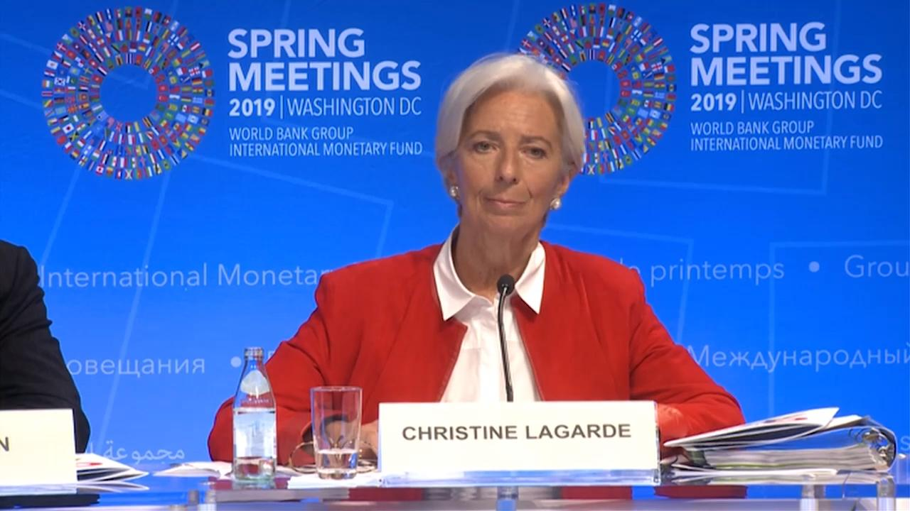 Press Conference with IMF Managing Director