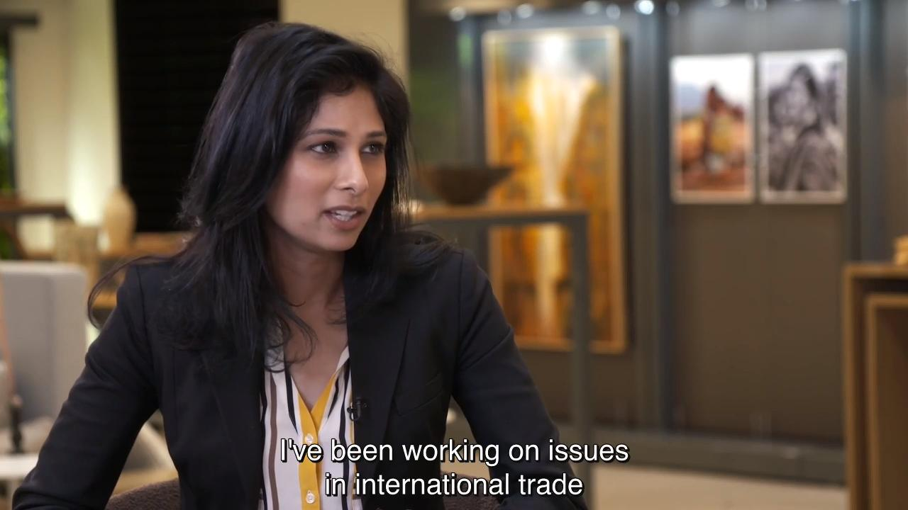 Interview with Gita Gopinath, IMF Chief Economist