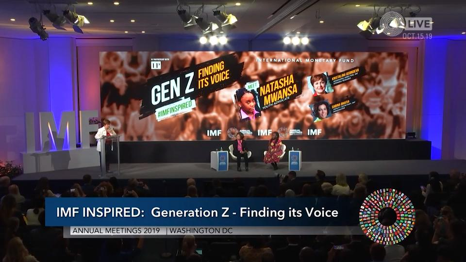 IMF Inspired: Generation Z - Finding its Voice